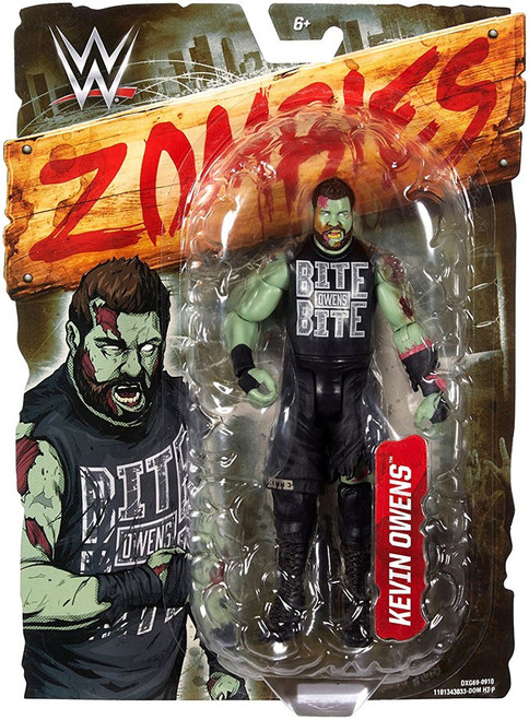 WWE Wrestling Zombies Kevin Owens Action Figure