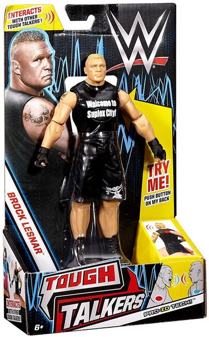 WWE Wrestling Tough Talkers Brock Lesnar Action Figure