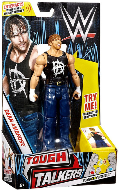 WWE Wrestling Tough Talkers Dean Ambrose Action Figure [Wave 2]
