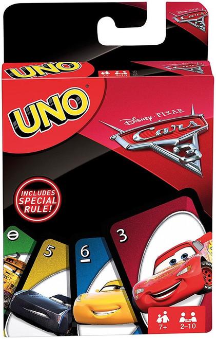 Disney / Pixar Cars Cars 3 UNO Game