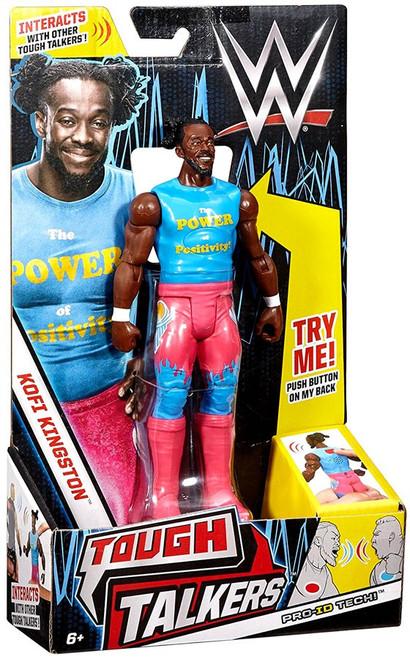 WWE Wrestling Tough Talkers Kofi Kingston Action Figure