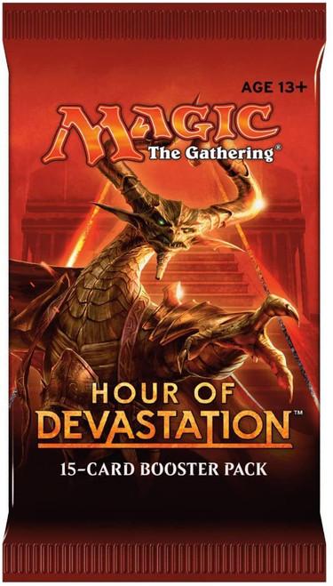 MtG Trading Card Game Hour of Devastation Booster Pack [15 Cards]