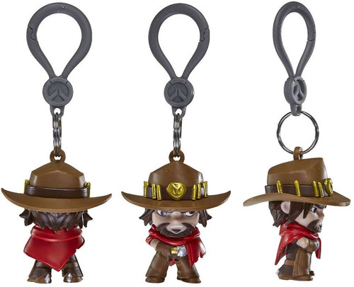 Overwatch Clip On Hangers Series 1 McCree Figure [Loose]