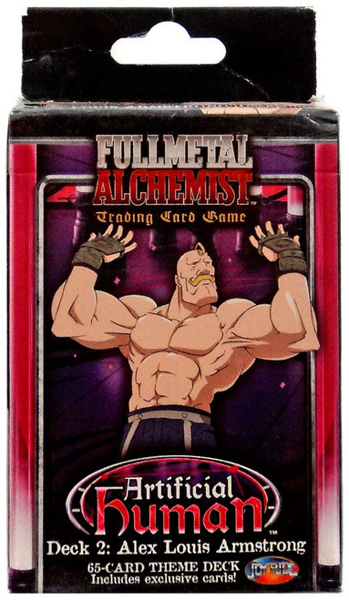 Fullmetal Alchemist Trading Card Game Artificial Human 2: Alex Louis Armstrong Theme Deck