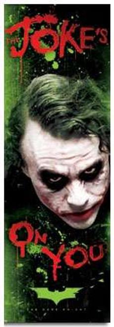 Batman Dark Knight Movie Joker Door Poster #9522