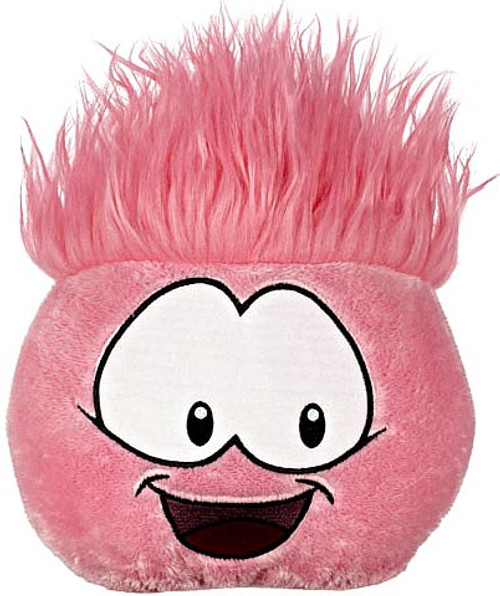 Disney Club Penguin Pink Plush 8-Inch Jumbo Plush [RANDOM Facial Expression Comes with Coin and Code]