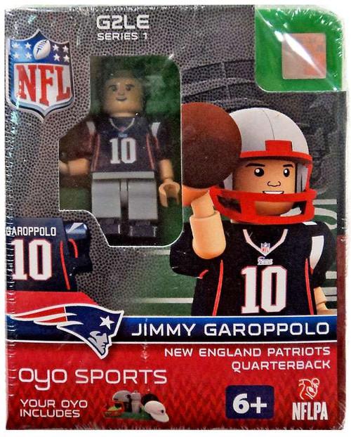 New England Patriots NFL Generation 2 Series 1 Jimmy Garoppolo Minifigure
