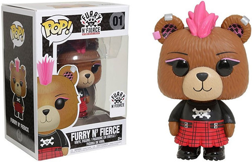 Funko Build a Bear POP! Books Furry N' Fierce Exclusive Vinyl Figure #01