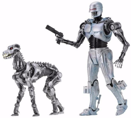 NECA RoboCop vs. The Terminator EndoCop & Terminator Dog Action Figure 2-Pack