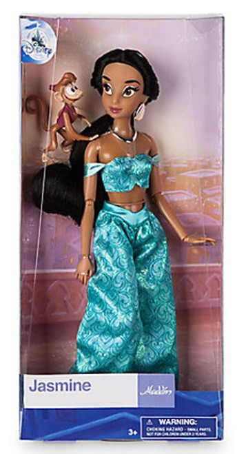 Disney Aladdin Jasmine with Abu Exclusive 11.5-Inch Doll