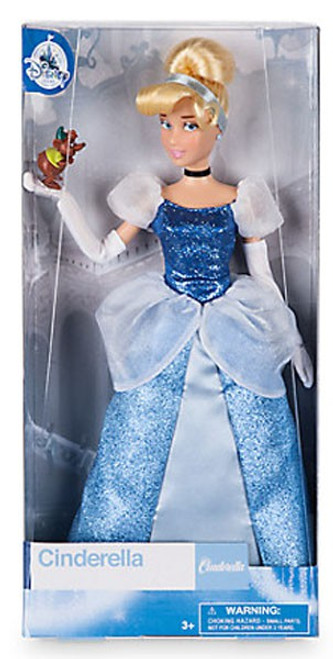 Disney Cinderella Exclusive 11.5-Inch Doll [with Gus figurine]