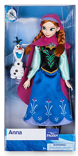 Disney Frozen Anna Exclusive 11.5-Inch Doll [with Olaf figurine]
