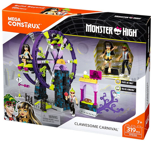 Monster High Clawesome Carnival Set