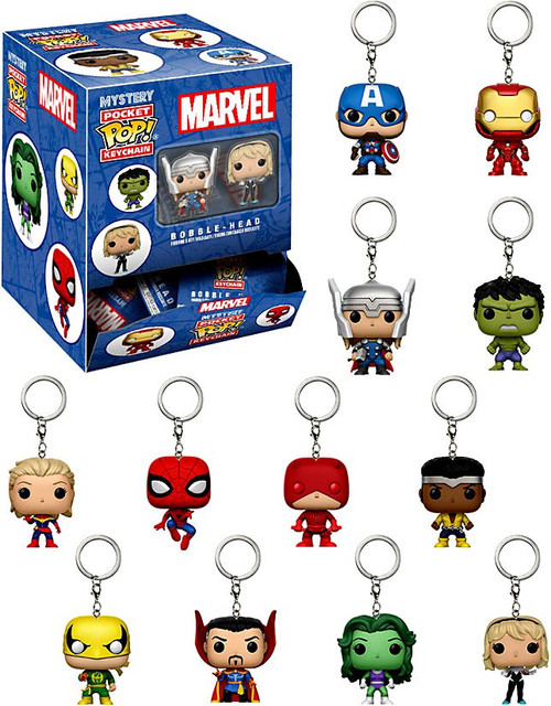 Funko Pocket POP! Keychain Marvel Mystery Box [24 Packs]