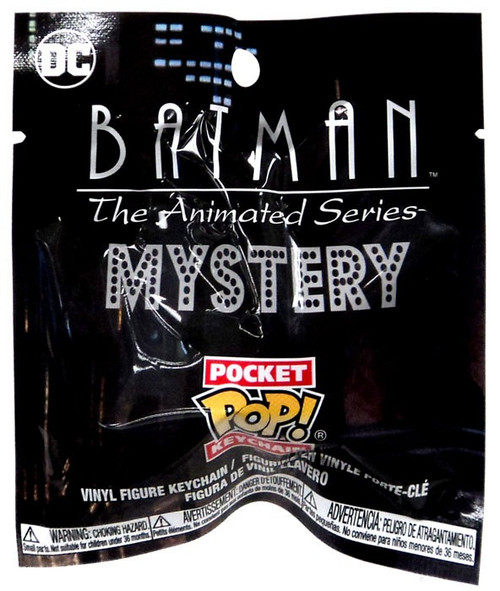 Funko DC Pocket POP! Keychain Batman the Animated Series Mystery Pack