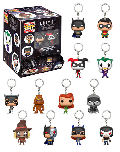 Funko DC Pocket POP! Keychain Batman the Animated Series Mystery Box [24 Packs]