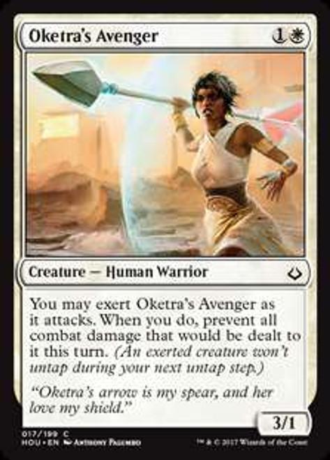 MtG Hour of Devastation Common Oketra's Avenger #17