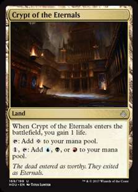 MtG Hour of Devastation Uncommon Crypt of the Eternals #169