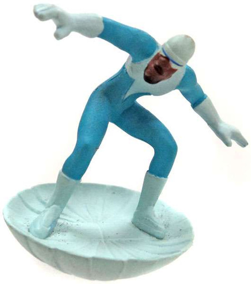 Disney / Pixar Incredibles Gacha Frozone 1.5-Inch PVC Figurine [Loose]