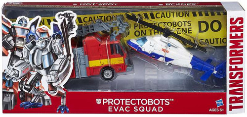 Transformers Protectobots Evac Squad Exclusive Action Figure 2-Pack [Damaged Package]
