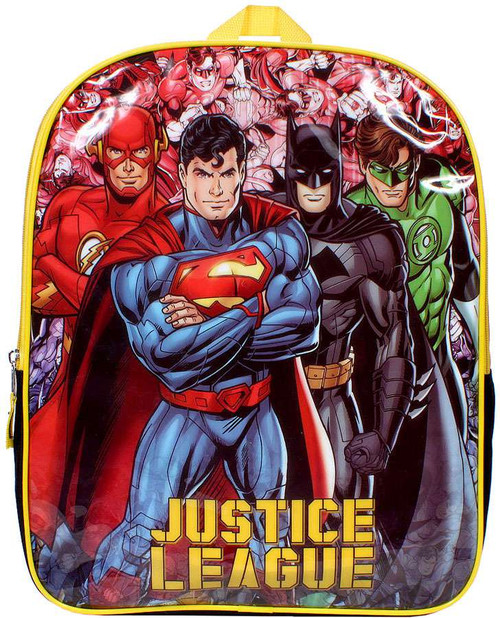 DC Flash Full Force Justice League Backpack Apparel