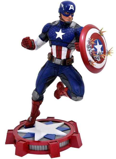 Marvel Gallery Captain America 9-Inch PVC Figure Statue