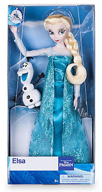 Disney Frozen Elsa Exclusive 11.5-Inch Doll [with Olaf figurine]