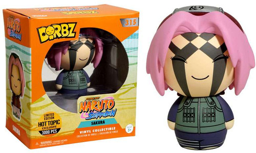 Funko Naruto Shippuden Shonen Jump Dorbz Sakura Exclusive Vinyl Figure #315 [Face Paint]