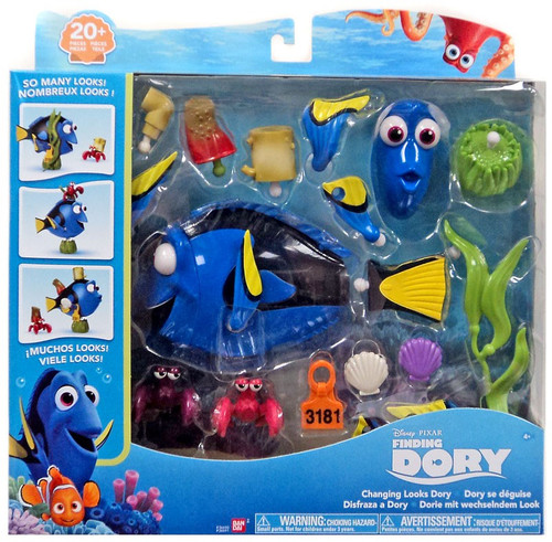 Disney / Pixar Finding Dory Changing Looks Dory Playset