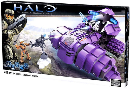 Mega Bloks Halo The Authentic Collector's Series Covenant Wraith Set #96832 [Damaged Package]
