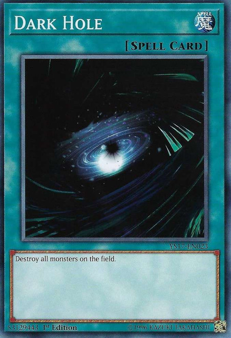 YuGiOh Starter Deck: Link Strike Common Dark Hole YS17-EN023