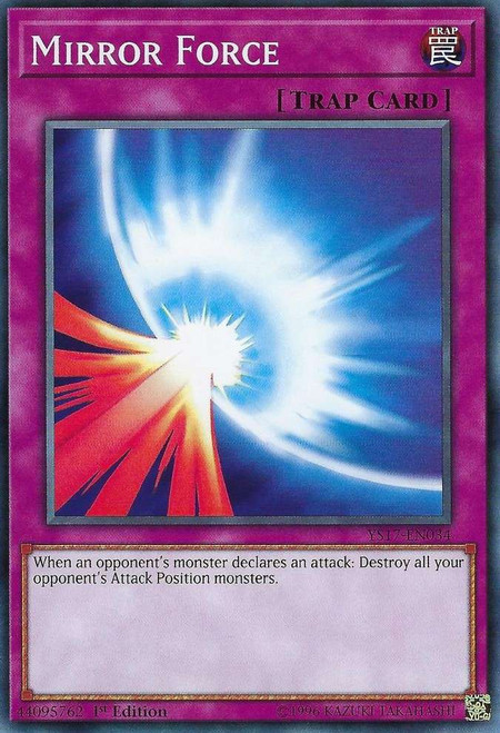 YuGiOh Starter Deck: Link Strike Common Mirror Force YS17-EN034