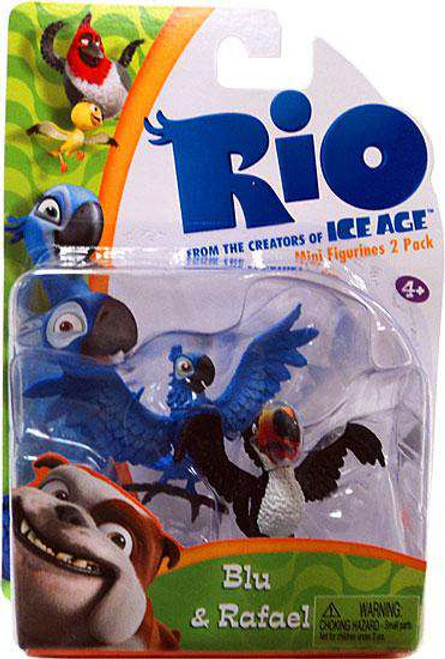 Rio Blu & Rafael Figure 2-Pack [Damaged Package]