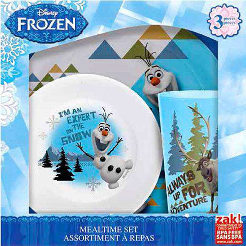 Disney Frozen Olaf & Sven Mealtime Set [Damaged Package]