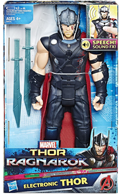 Marvel Thor: Ragnarok Thor Electronic Action Figure