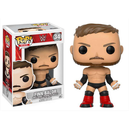 Funko WWE Wrestling POP! Sports Finn Balor Vinyl Figure #34 [Regular Version, Damaged Package]