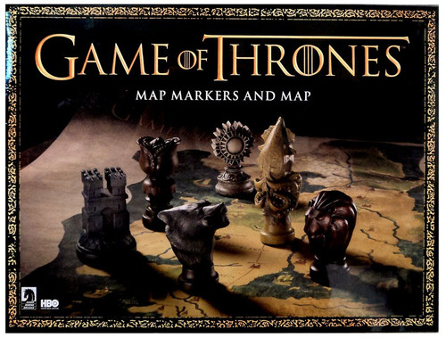 Game of Thrones Map Markers & Map