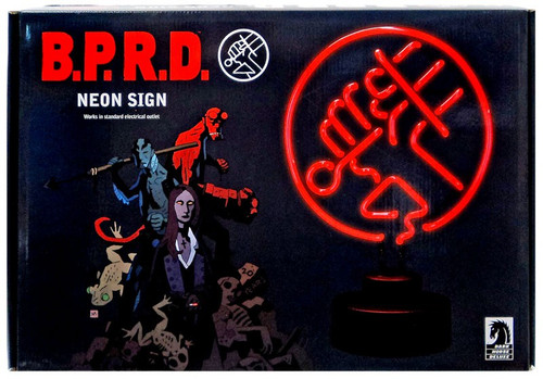 Hellboy B.P.R.D. Neon Sign