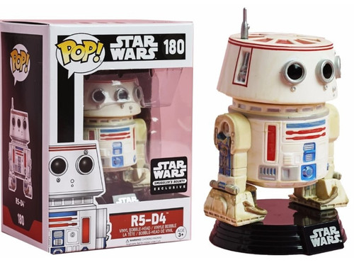 Funko POP! Star Wars R5-D4 Exclusive Vinyl Bobble Head #180 [Droids Box]