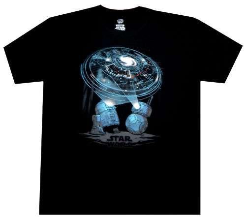 Funko Star Wars Droids Exclusive T-Shirt [R2-D2 & BB-8, X-Large]