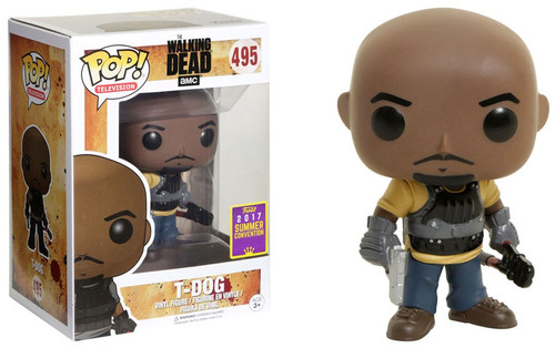 Funko The Walking Dead POP! TV T-Dog Exclusive Vinyl Figure #495