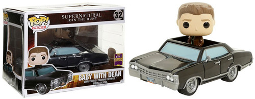 Funko Supernatural POP! Rides Baby with Dean Exclusive Vinyl Figure #32