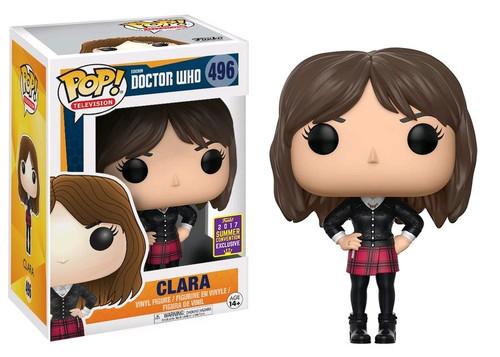 Funko Doctor Who POP! TV Clara Exclusive Vinyl Figure #496