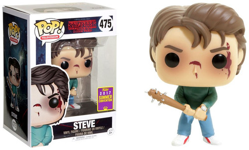 Funko Stranger Things POP! TV Steve Exclusive Vinyl Figure #475