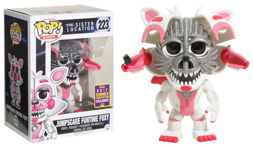 Funko Five Nights at Freddy's Sister Location POP! Games Jumpscare Funtime Foxy Exclusive Vinyl Figure #223