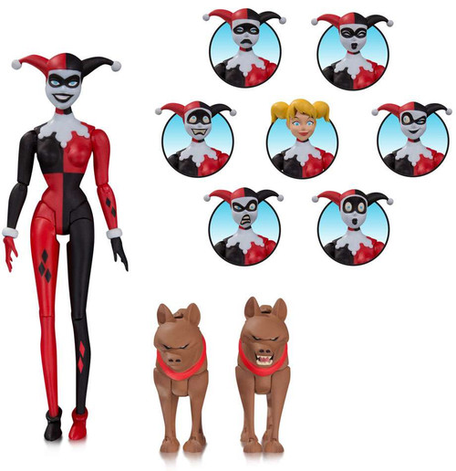 Batman The Animated Series Harley Quinn Expressions Pack Action Figure
