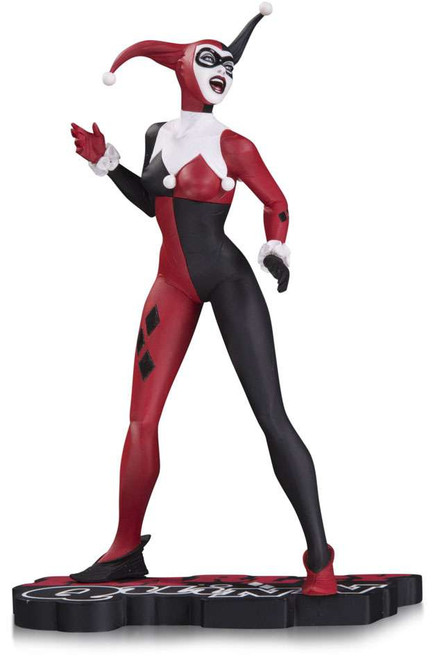 Batman Harley Quinn Red, White & Black Harley Quinn Statue [Jae Lee]