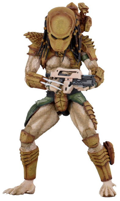 NECA Alien vs Predator Arcade Game Predator Hunter Action Figure [Ultimate Body]