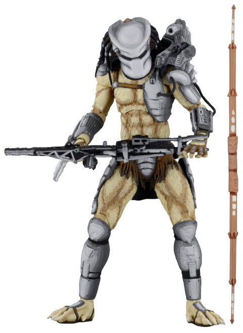 NECA Alien vs Predator Arcade Game Predator Warrior Action Figure [Ultimate Body]