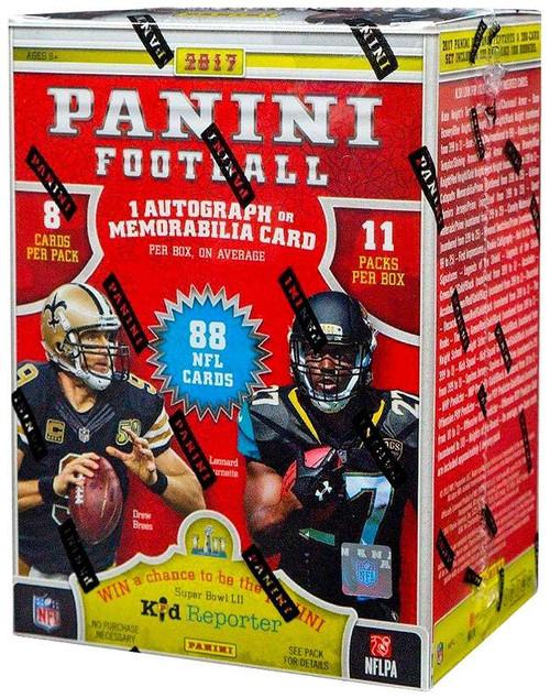 NFL 2017 Panini Football Trading Card BLASTER Box [11 Packs]